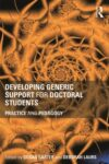 Image of book cover Title developing generic support for doctoral students: practice and pedagogy