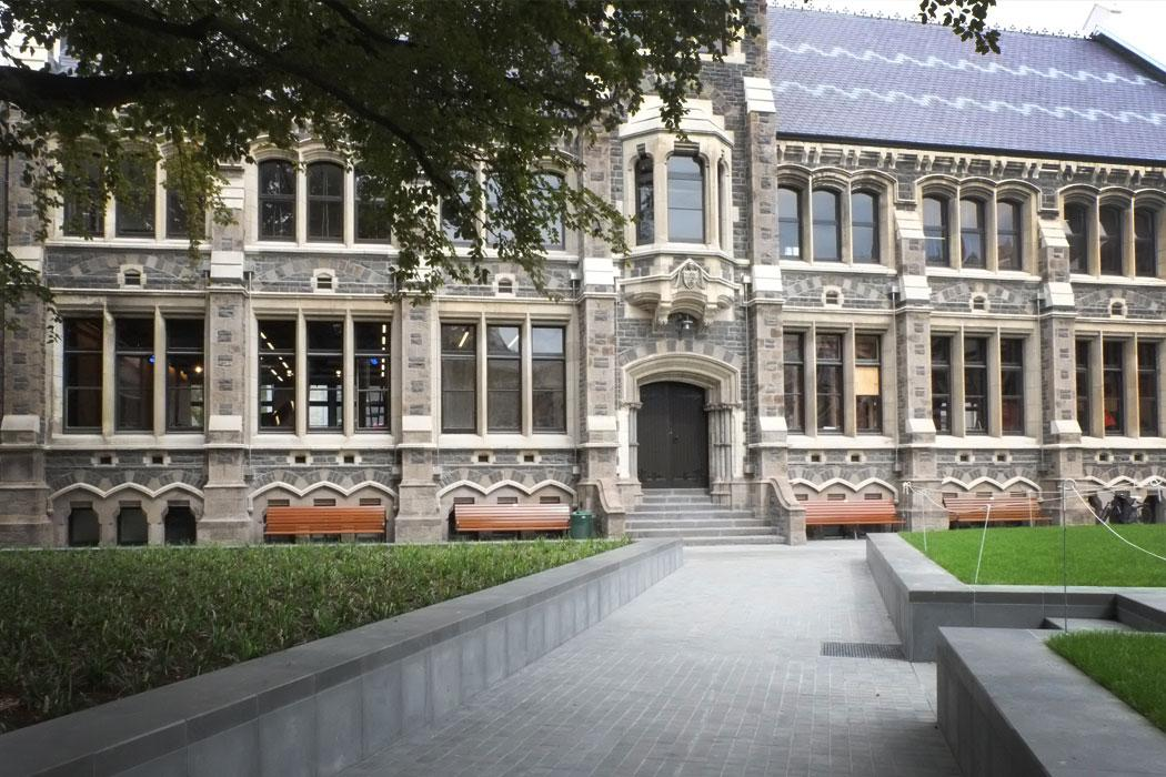 University of Canterbury city campus